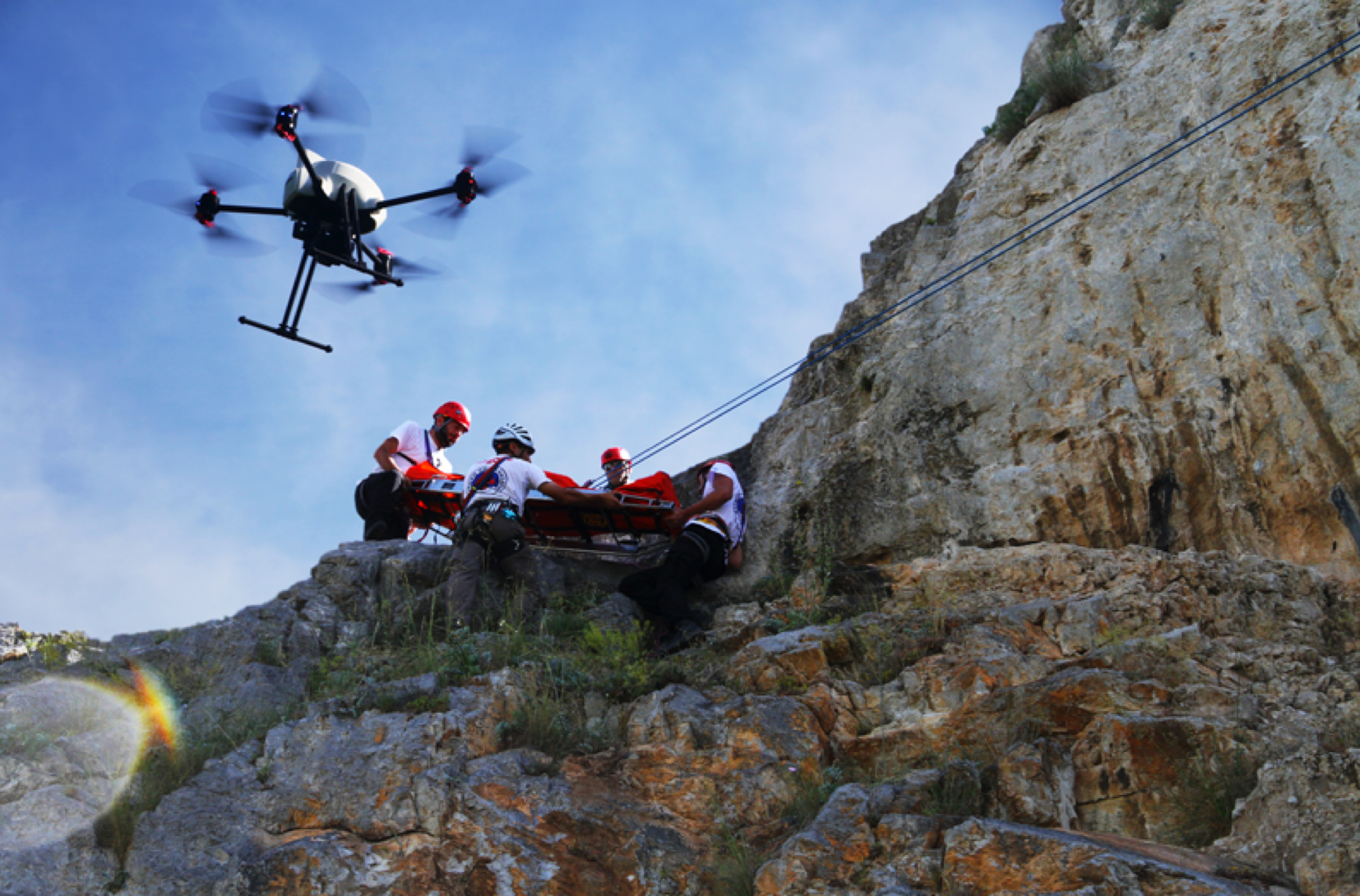 Drones For Emergency Service Cover More Ground From Above